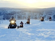winter teenager activity holidays - the lapland experience