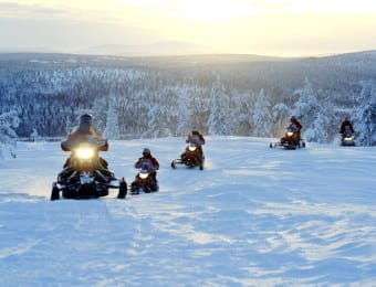 Family holidays in Lapland for teenagers