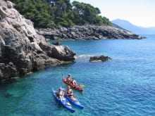Croatia family kayaking week