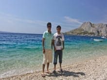 Teenage family activity holidays Croatia
