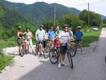Family cycling active holidays
