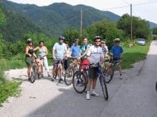 Family cycling active holidays