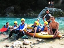 Family summer active holidays