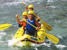 Active family holidays for teenagers