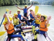 Activity holidays for teenagers in Slovenia