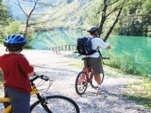 Family cycling holidays in Slovenia