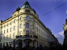 Prihod Kraljice Elizabete II v Grand Hotel Union
