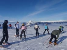 Ski holidays for families