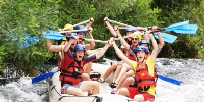 Adventure holidays for families