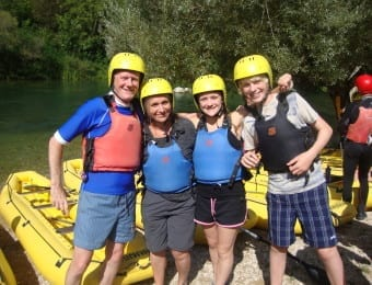 Croatia family activity holiday