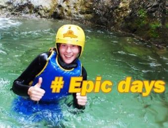 Canyoning holidays Slovenia