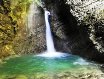 Canyoning in Bohinj perfect for family adventures