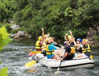 Croatia rafting cycling holidays