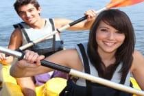 sea kayaking holiday for teenagers