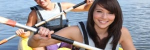 sea kayaking holiday for teenagers