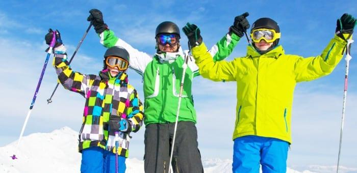 skiing teenage holiday slovenia