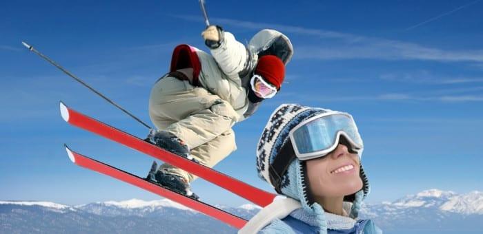 february skiing family holiday