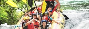 water rafting on the Cetina river Croatia