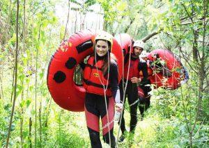 river tubing tours in Croatia